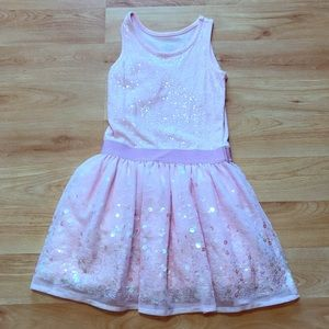 Children's place sequins dress Size 6